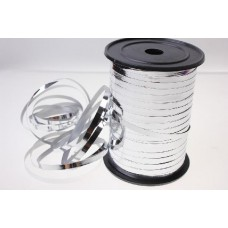 Лента металлизированная 0,5 см*250 м Серебро