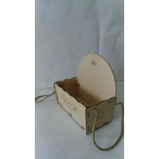 Упаковка для букетов из дерева Полка
