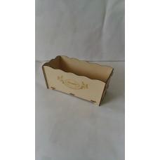 Упаковка для букетов из дерева 11*10*23см