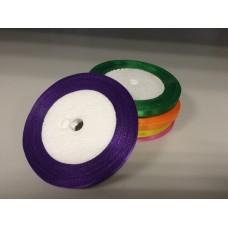Лента атласная фиолетовая (0,6 см)
