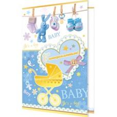 Открытка С новорожденным! 2-01-3901 А