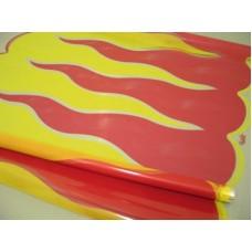 Пленка Пламя красно-желтое