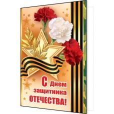 Открытка С днем защитника ОТЕЧЕСТВА !  2-04-23030 А