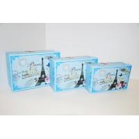 Коробки подарочные Арт.478 Голубой