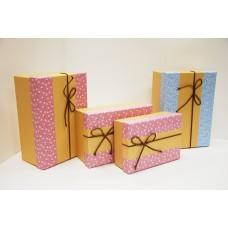 Коробки подарочные с бантиком