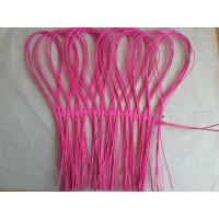 Каркас петельки из ротанга ярко-розовый