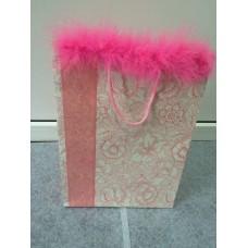 Подарочный пакет TWISD розовый