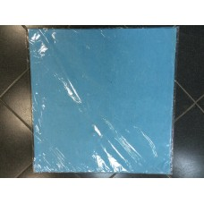 Фетр листовой 62см x 63 см голубой