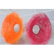 Каркас волосатый средний. Каркас для букета , цвета в ассортименте, сизаль,волосатый.