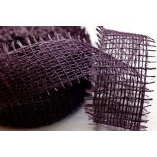 Лента Джутовая фиолетовая, 3 см