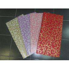 Упаковочная бумага с завитками