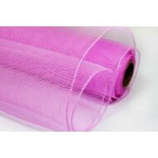 Сетка однотонная розовая
