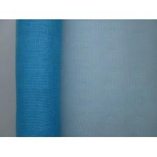 Сетка однотонная голубая