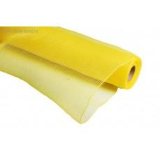 Сетка однотонная желтая