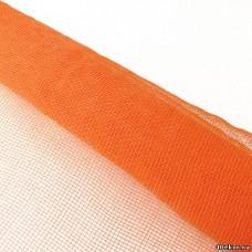 Сетка однотонная оранжевая