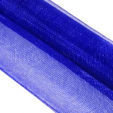 Сетка однотонная синяя